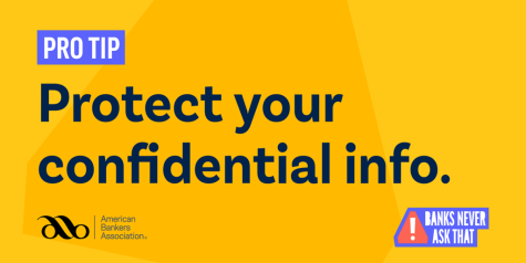 Pro Tip. Protect your confidential information.