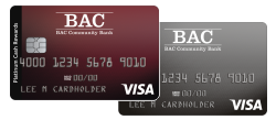 BAC Visa Credit Cards