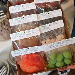 5 Spice - snacks