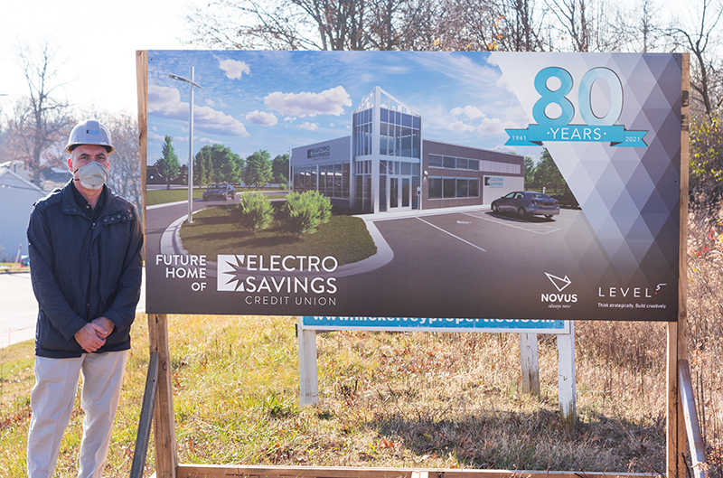 Electro Savings Credit Union St. Peters, MO Groundbreaking