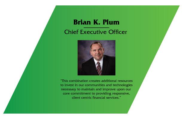 Brian Plum CEO of Blue Ridge Bankshares