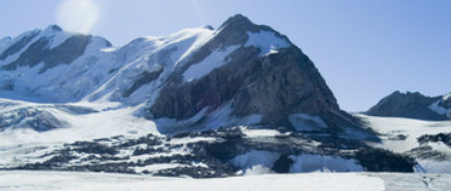 Image of a snow-covered mountain