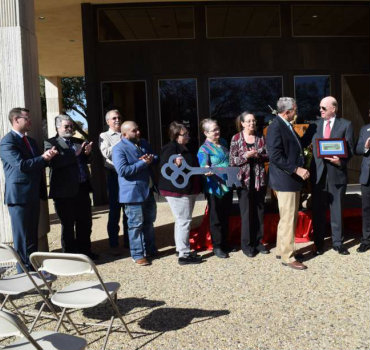 Centennial BANK Dedicates 201 West Sixth Street Location to City of Plainview