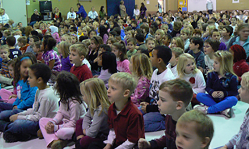 Normandale Hills Elementary School Students