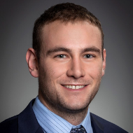 Portrait of team member, Trevor Bacon