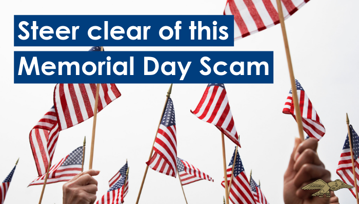 Memorial Day Scam
