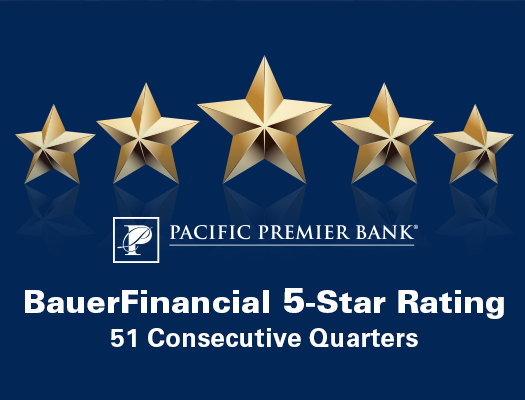 Image of 5-Star Rating from BauerFinancial