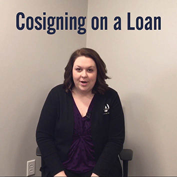 Video: Cosigning on a Loan