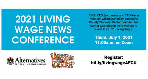 AFCU Announces 2021 Living Wage Study