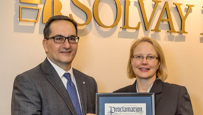 Solvay Bank's 100th Anniversary Recognized with County Proclamation