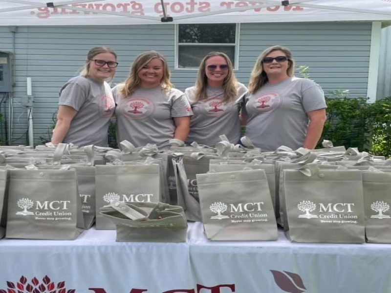 MCT proudly supports local businesses and events in our community. Our staff gets out there and enjoys volunteering at these events!