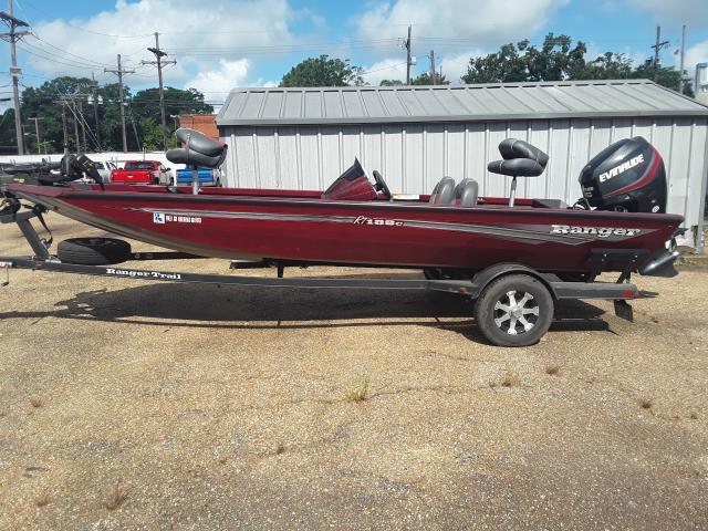 Image 2 of 2017 Ranger Bass Boat, Motor, and Trailer