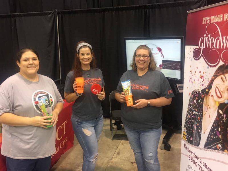 Valerie, Kelli, and Trish had a great time at the Baby & Family Expo!