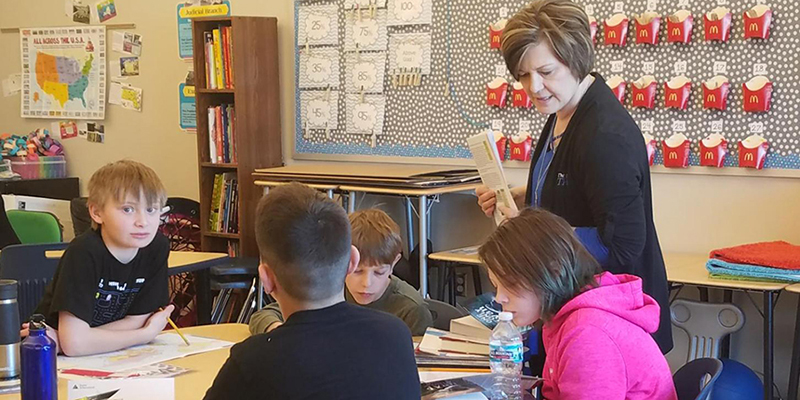 Junior Achievement present at Ray Elementary and Central Elementary