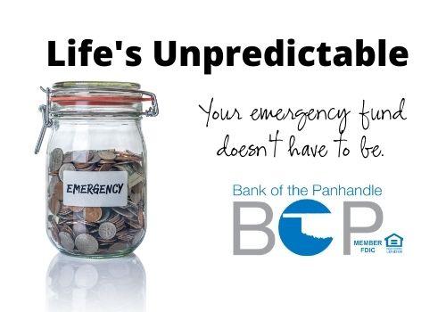 Be financially prepared for the unpredictable.