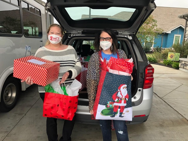 Team MCT happily provided Christmas for 25 seniors housed in Bonne Vie Nursing Facility. We are always thrilled to spread some Christmas cheer!