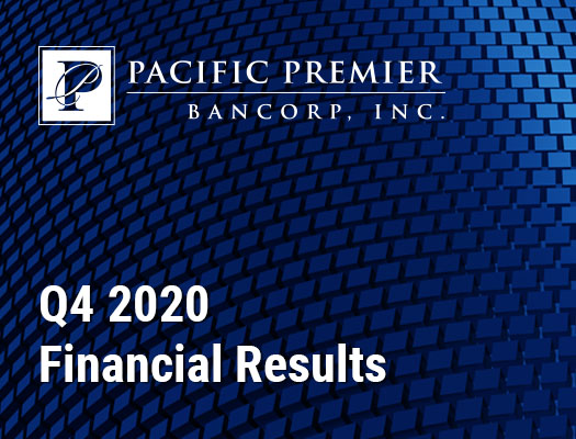 Image of Pacific Premier Bancorp, Inc. Announces Fourth Quarter 2020 Financial Results
