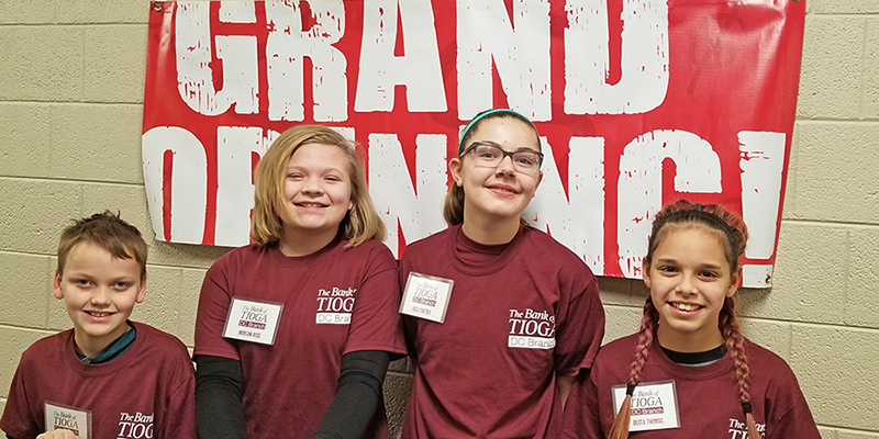 First Student-Run Bank Elementary Branch Opens in Divide County