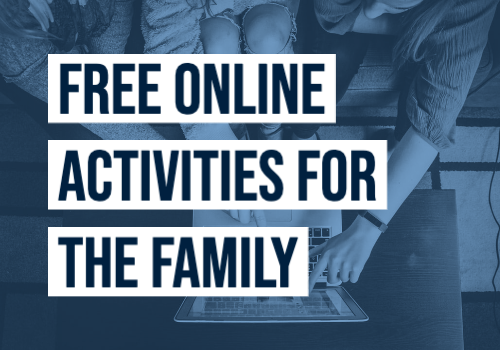 Free Online Activities for the family