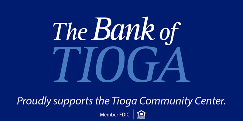 The Bank of Tioga Shares in Development of New Tioga Community Center Grand Opening