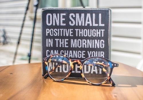 Be positive, Do positive.