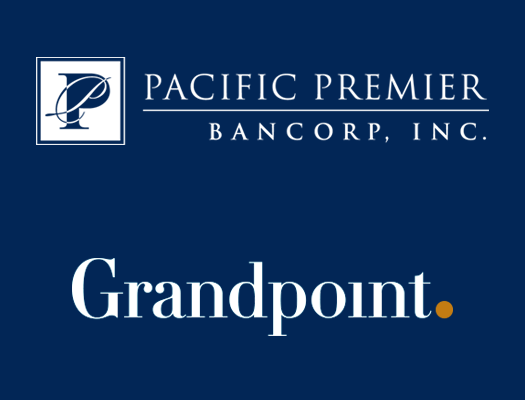 Image of Pacific Premier Bancorp, Inc. Announces Completion of Acquisition of Grandpoint Capital, Inc.