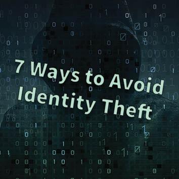 Video: 7 Ways to Avoid Identity Theft