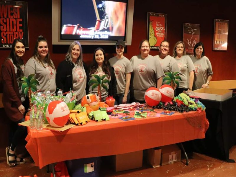 """Team MCT happily supported The Lutcher Theater for the """"Escape to Margaritaville"""" show this December!"""