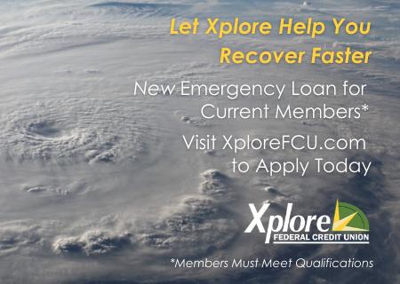 New Emergency Loan for Current Xplore FCU Members
