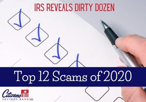Top 2020 Scams to Watch Out For