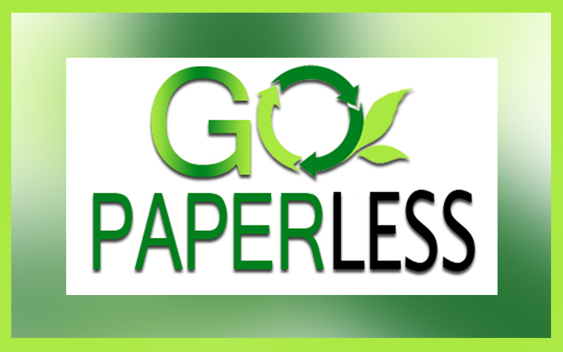 Go Paperless this Earth Day