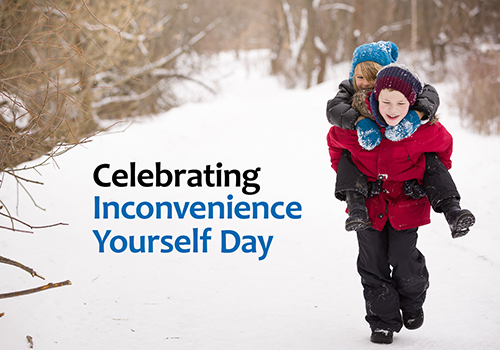 #PickKind with Inconvenience Yourself Day