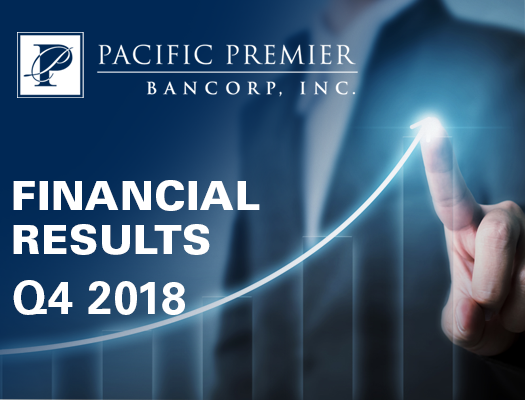 Image of Pacific Premier Bancorp Announces Q4 2018 Financial Results