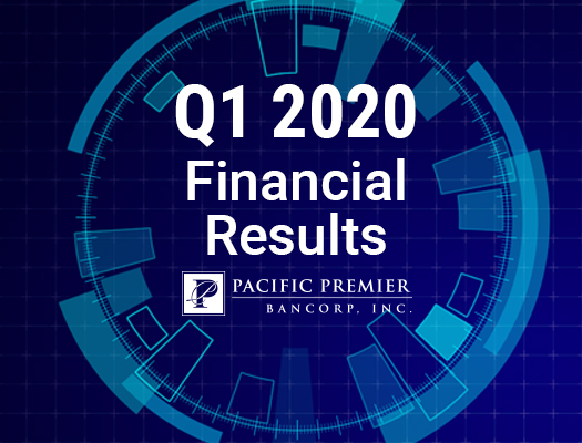 Image of Pacific Premier Bancorp, Inc. Announces First Quarter 2020 Financial Results