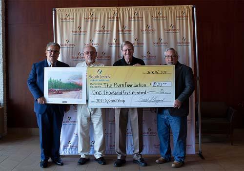 Burn Foundation Donation