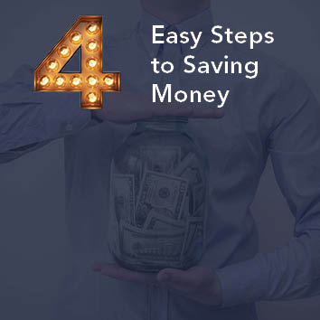 Video: 4 Easy Steps to Saving Money