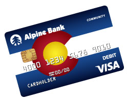 Alpine Bank Community Debit Card
