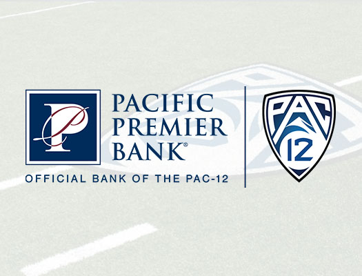 Image of Pacific Premier Bank becomes Official Bank of the Pac-12