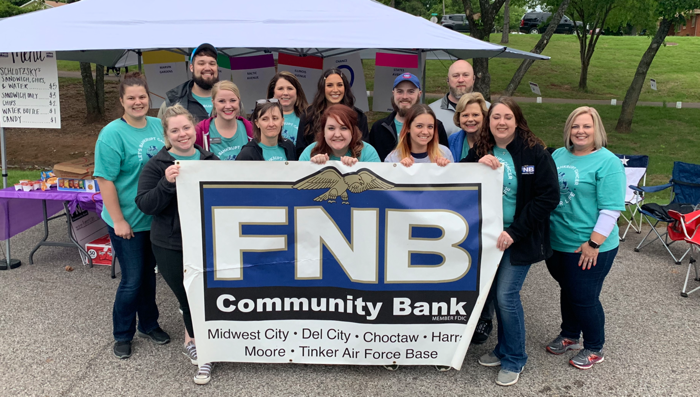FNB Community Bank's 2019 Relay For Life Team raises $11,000!