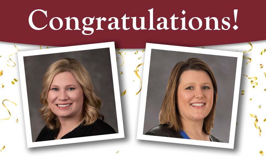 Monson Savings Bank's Heather Arbour and Catherine Rioux Graduate from the New England School for Financial Studies