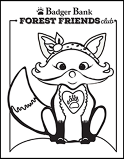 Fiona Fox coloring page