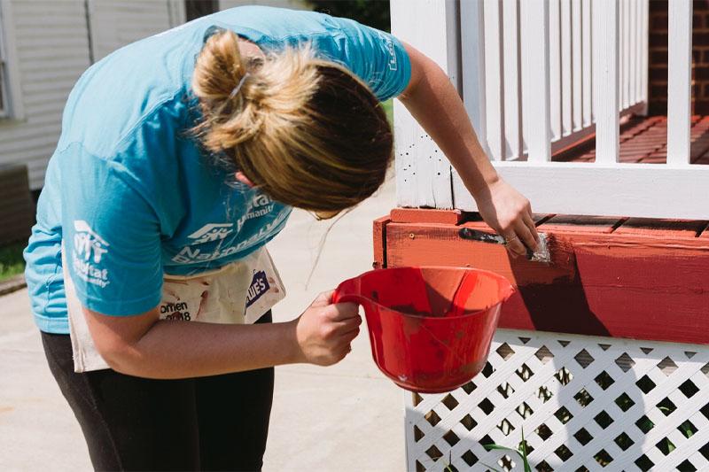 Habitat Partnership Providing Home Purchase Loans