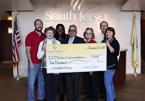Donation to St. John of God Community Services