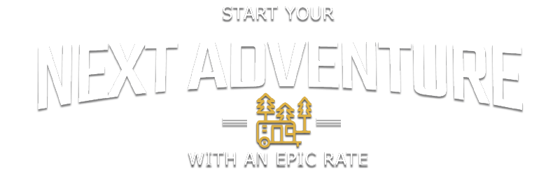 Start your next adventure with an EPIC rate!