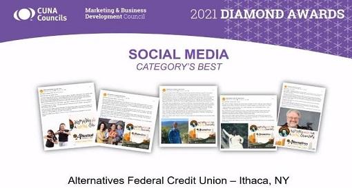"AFCU Marketing Wins Prestigious National Diamond Award for ""Best in Category: Social Media"""