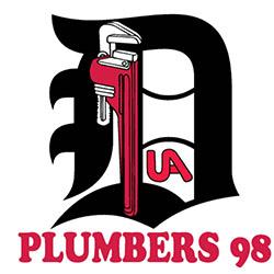 Plumbers Local 98 Logo