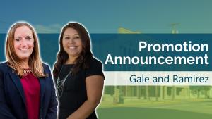 FCCU Announces the Promotion of Gale and Ramirez