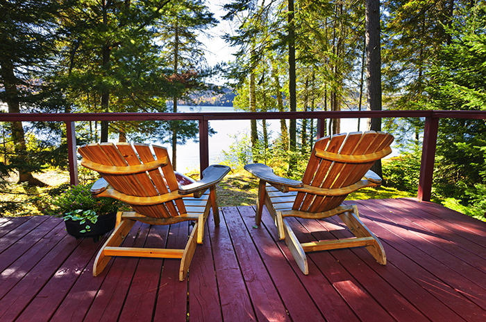 Financial planning for semi-retirement: Less time at the office, more time at the cabin