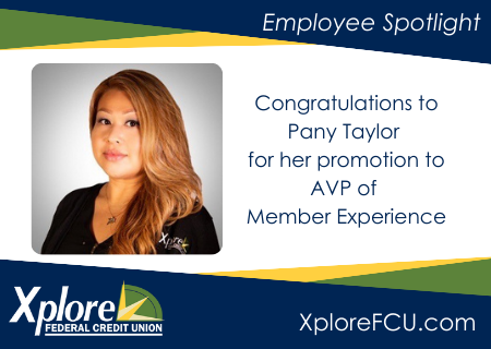 Xplore FCU Promotes Pany Taylor to AVP of Member Experience