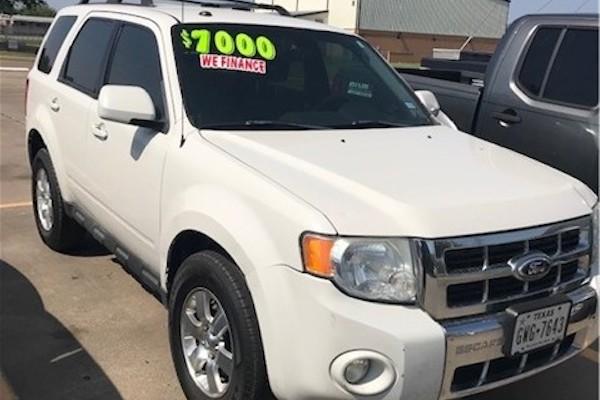 2012 Ford Escape Limited (White)